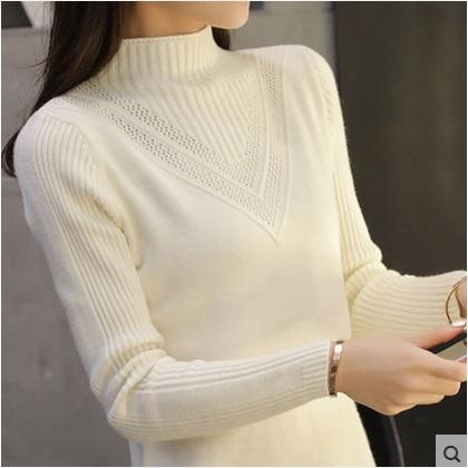 Women s Wool Cashmere Sweater Female Plus Gray Warm Sweaters Autumn ... e83ec67bdd37