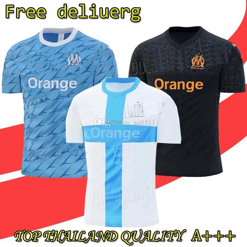 online retailer ff7b9 67bb0 New TOP 19 20 Thailand Olympique de Marseille soccer jersey football shirt  OM Marseille jersey football shirt CABELLA PAYET Camiseta de fu