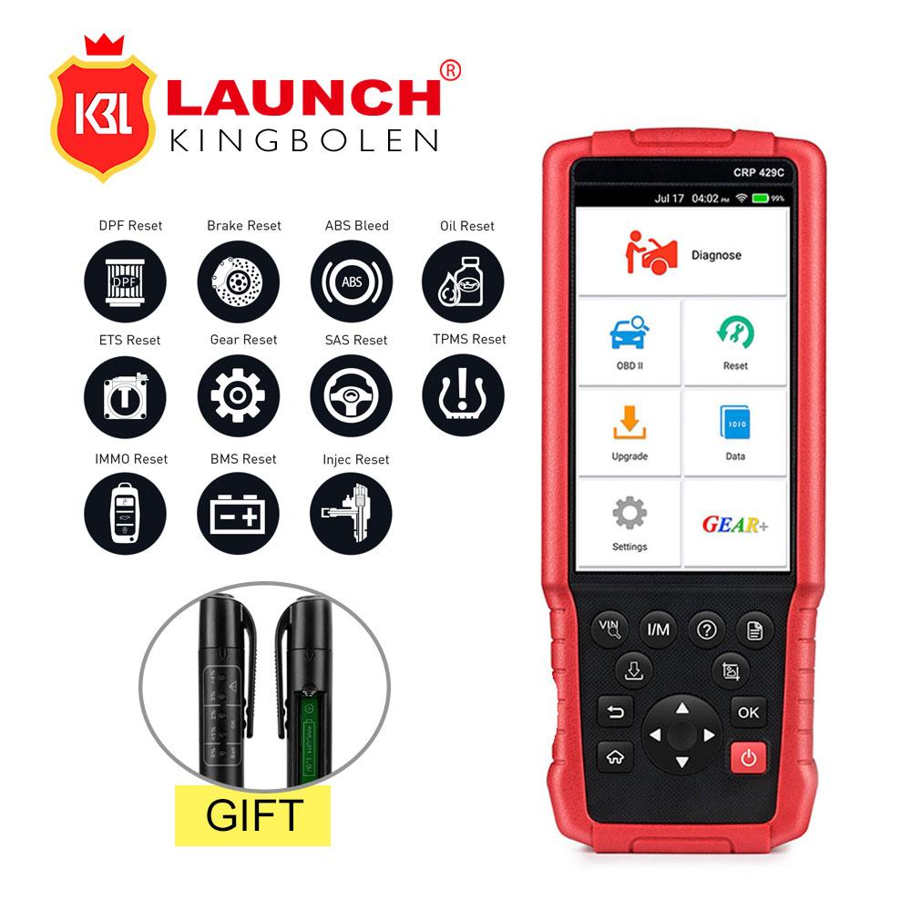 LAUNCH X431 CRP429C CRP 429 Auto diagnostic tool for Engine/ABS/Airbag/AT  11 Service Free update PK CRP129 CRP429 FX6000