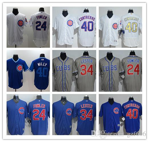 5d2784adb 2019 Custom Men S Women Youth Chicago Cubs Jersey  34 Jon Lester Home Blue  Grey White Baseball Jerseys From Gzf606