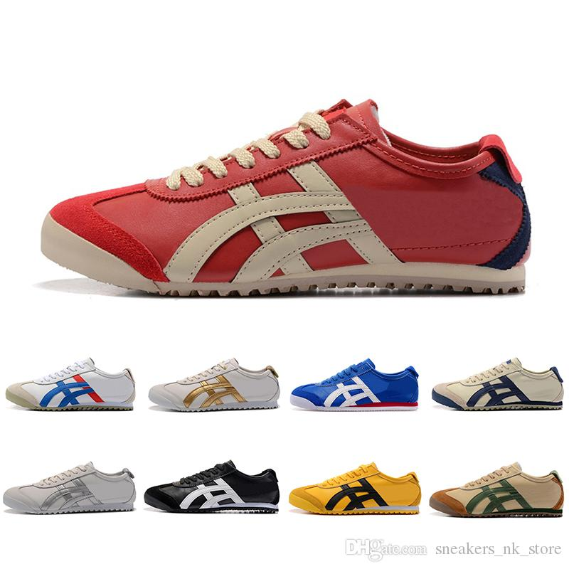 lowest price 41cc7 a5bfa Top Sale Onitsuka Tiger Running Shoes For Men Women Athletic Outdoor Boots  Brand Sports Mens Trainers Sneaker Designer Shoes Size 36-44