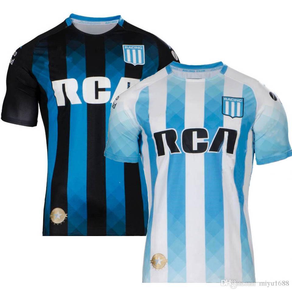 2019 20 Racing Club soccer Jersey 19 20 away Football uniforms Fernandez  Centurion R CENTURION shirt maillot Camiseta de futbol