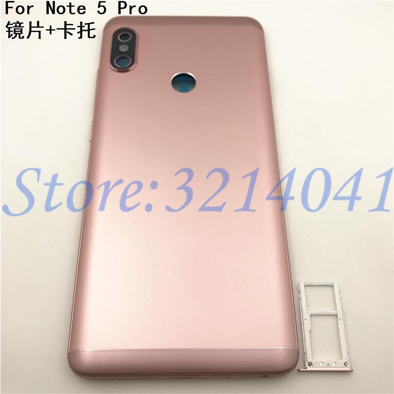f8d05d183 Original For Xiaomi Redmi Note 5 Pro Battery Cover Rear Door Housing ...
