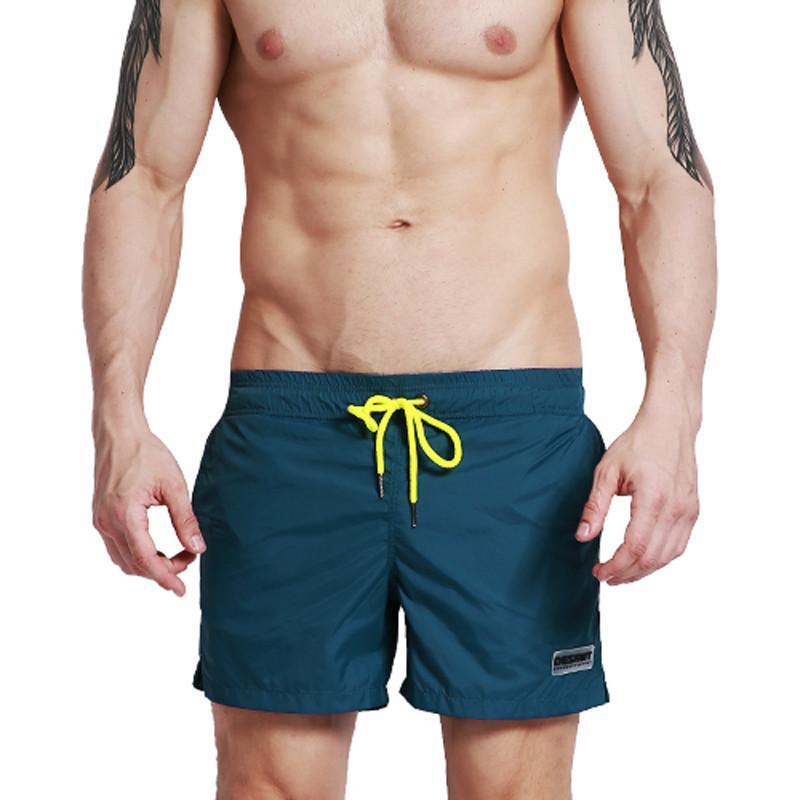 e0ffd75574f8d 2019 Desmiit Quick Dry Beach Shorts Men Swim Shorts Boardshorts Bermuda  Surf Board Short Pants Swimwear Swimming Trunks Zwembroek Man C19040801  From ...