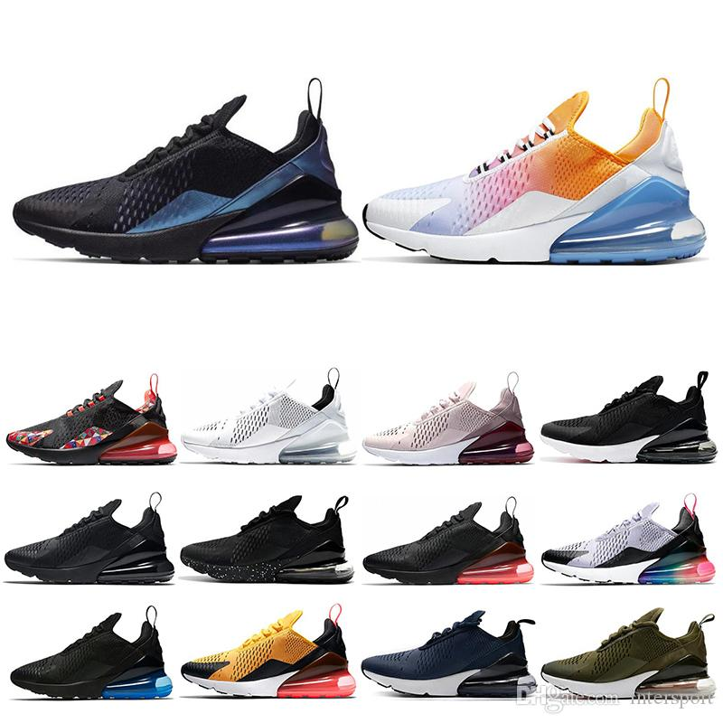 2020 Mens Womens Running Shoes Triple White Black Regency Purple SUMMER GRADIENTS Tiger Be true Women Sports Sneakers Shoes Size 36-45