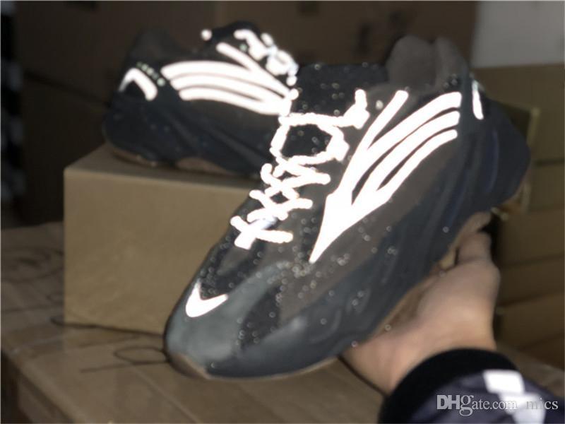 reputable site 994a5 cfb69 2019 Best Authentic Wave Runner 700 V2 Geode Kanye West EG6860 Calzado De  Running Hombre Zapatillas Deportivas Basf Café Negro Con Caja Original 36  47 Por ...