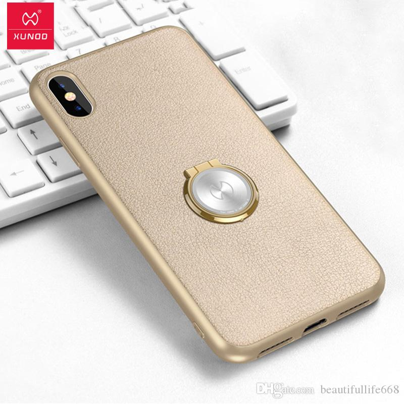 sports shoes 1a898 9e358 Xundd Shockproof Case For iPhone X Hard PC cover for iPhone 7 8 plus with  Ring buckle fit for Magnetic car phone holder