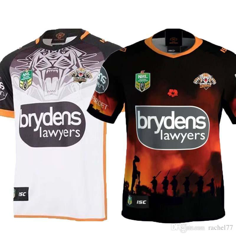 DHL 2018 WESTS TIGERS ANZAC JERSEY FLEXI BUNDLE NRL National Rugby League Nrl  Jersey Wests Tigers Rugby Jerseys Shirt S-3xl FLEXI Rugby Jerseys TIGERS  Super ... 9caeb2015