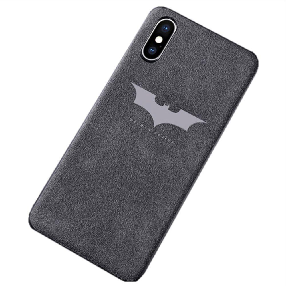 iphone xs fluffy flip case