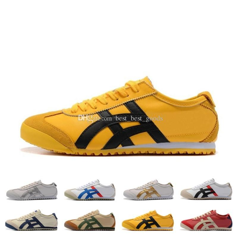 Kostenloser Versand Onitsuka Tiger Laufschuhe Für Männer Frauen Sportlich Outdoor Stiefel Marke Sport Mens Trainer Sneaker Designer Schuhe Größe 36 44