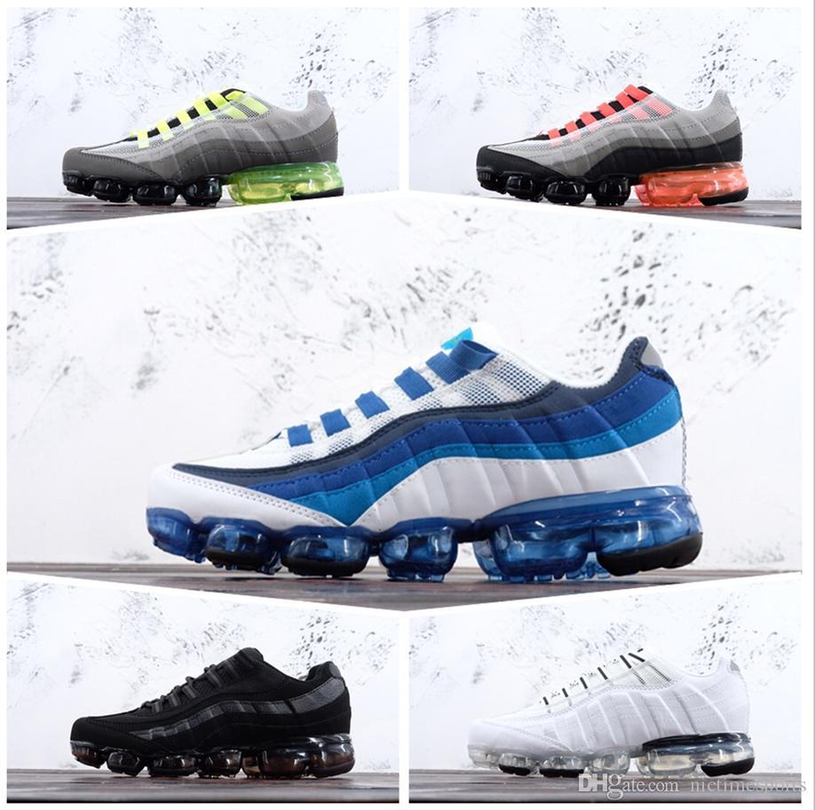 buy popular 96807 1d731 2019 New Athletic 95 Shoes Plus TN Running Moc Moda Para Hombre Diseñador  De Lujo Mujeres Niños Deportes Airs Zapatos Zapatillas De Deporte  Entrenadores 36 ...
