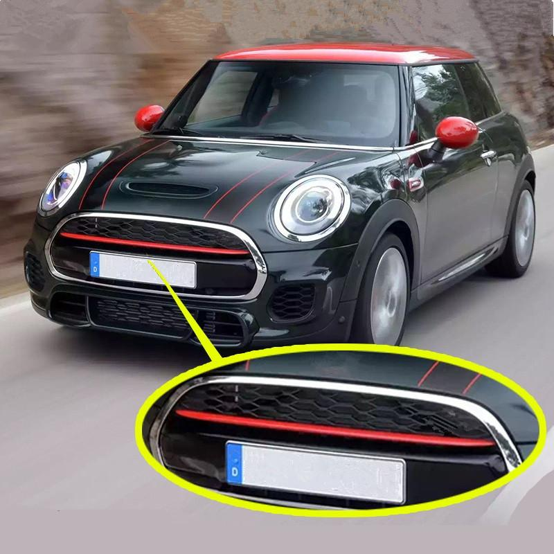 Car Front Grille Decoration Cover Mouldings Trim For Mini Cooper S