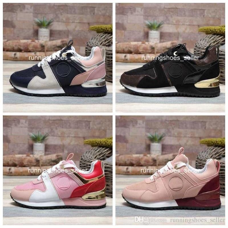 59fc03f71f Compre 2019 Louis Vuitton Lv Designer Shoes Luis Vuit Luxo Runway Womens  Sapatos Casuais De Couro Das Mulheres Designer Tênis Para Formadores De  Moda ...