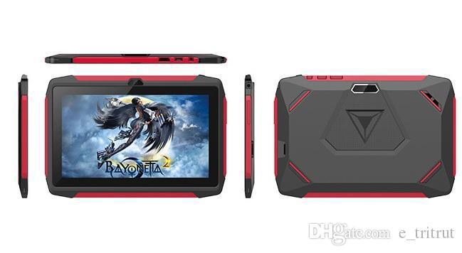 "Kids Brand Tablet PC 7"" 7 inch Q98 Quad Core A33 1024*600 HD screen Android 9.0 AllWinner A50 Real 1GB + 16GB with Bluetooth PK Q8 MQ10"