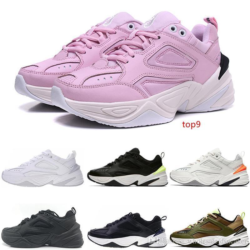 Tekno M2k Trainers Designer Fashion Old Dad Shoes Hot Promotion Pink Foam Zapatillas Quality Black New Men Women Classic Sneakers Size 36-44