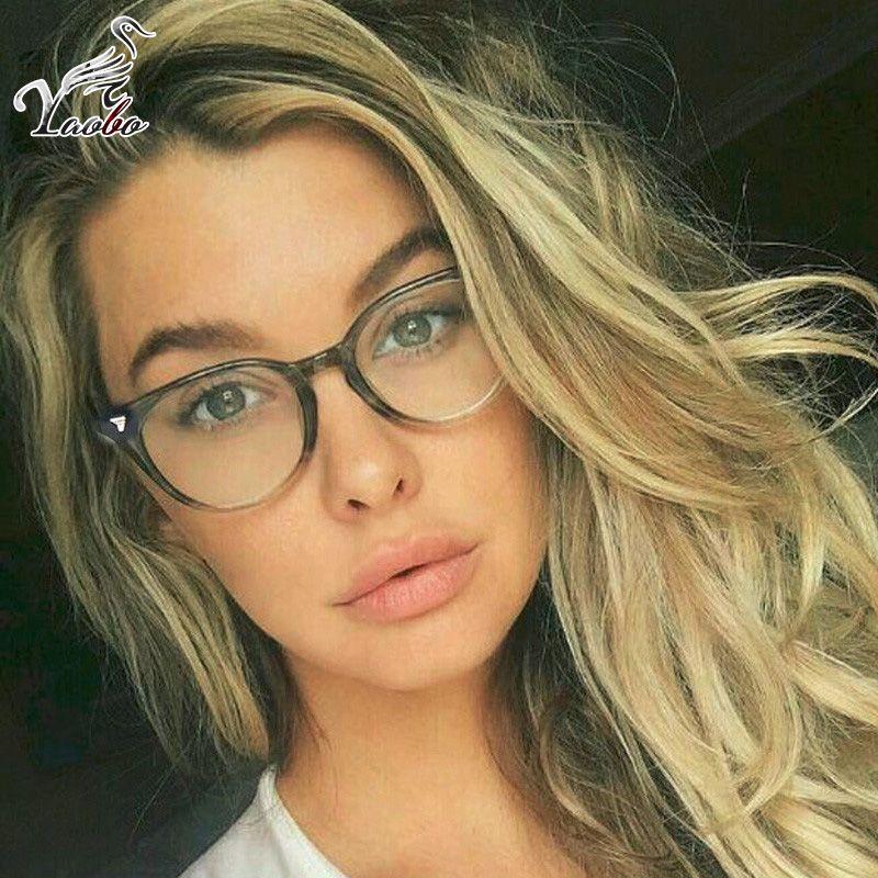 9863924f89bd9 2019 Trending Retro Round Eyeglasses Frame Women Brand Designer Fashion  Optical Eye Glasses Frames Men Computer Eyewear Oculos From Taihangshan