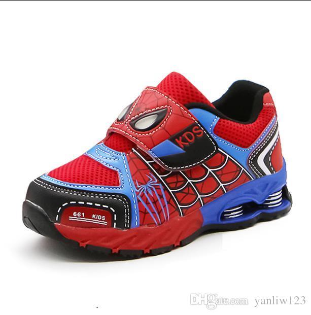 48c42ef4ac5fa Acheter Chaussures Enfants Printemps / Automne Chaussures Enfants Garçons  Sports Mode Casual Respirant En Plein Air Enfants Sneakers Garçon Courir De  $21.48 ...
