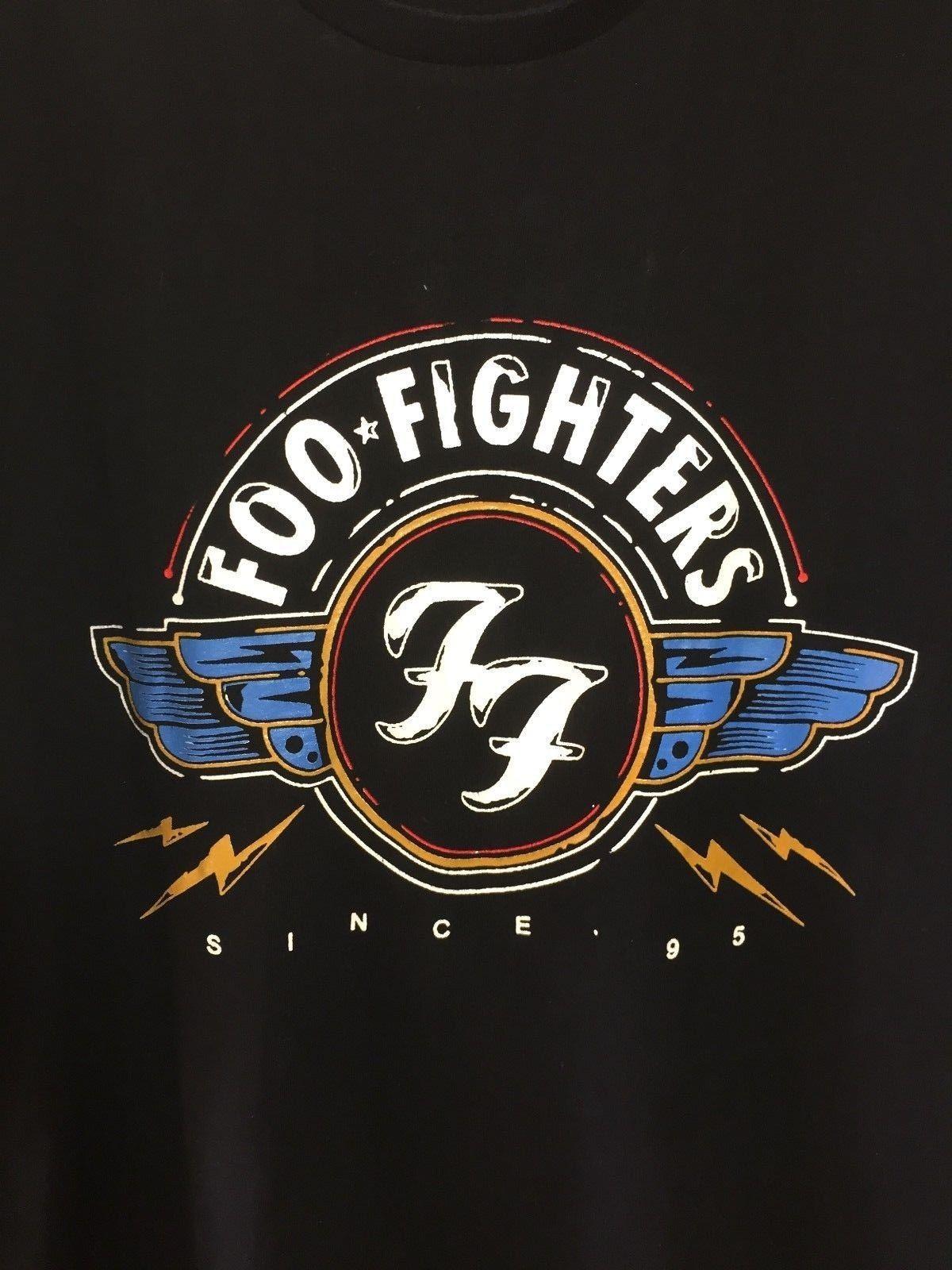 Moda Envío Gratis Hombre Negro Foo Mujeres Fighters Unisex Grande Extra Camiseta Hombres qGjUVLSMzp