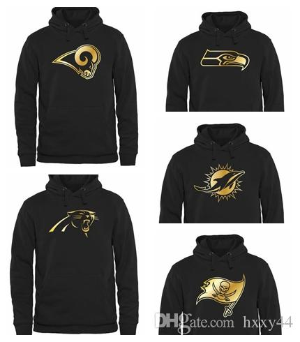 size 40 9da03 69fdb Men's Carolina Panthers Seattle Seahawks Dolphins Miami Tampa Bay  Buccaneers Tampa Bay Buccaneers Pro Line Gold Collection Pullover Hoodie