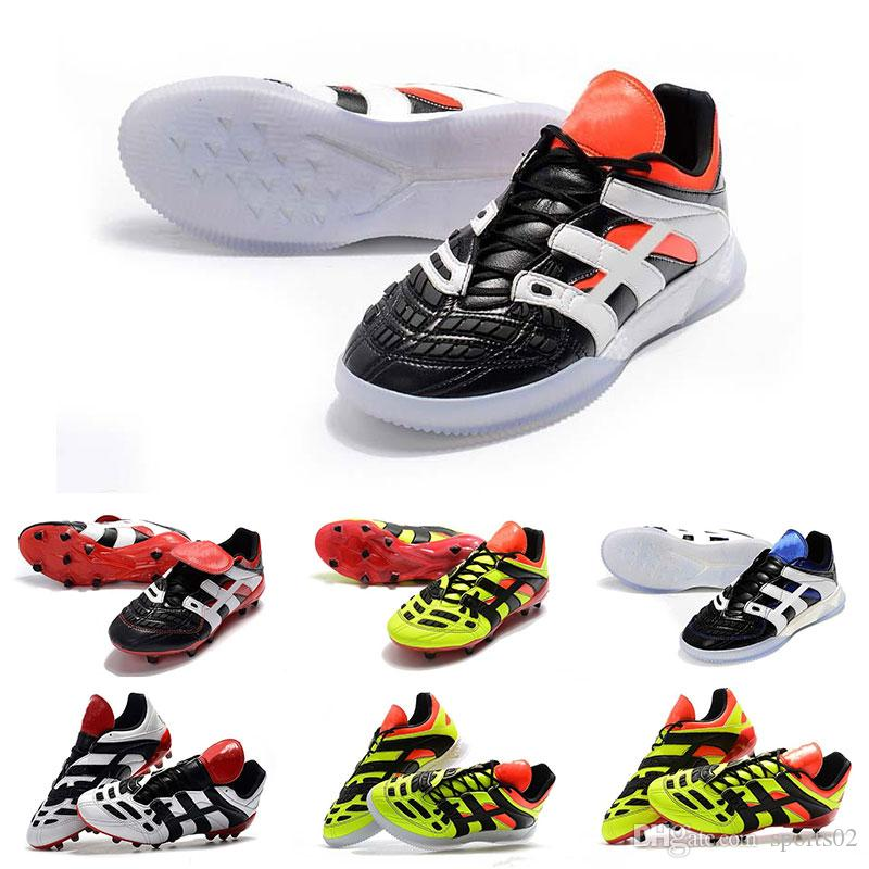 online retailer 396ea b3335 Wholesale Original Soccer Cleats High Quality PREDATOR ACCELERATOR FG  Football Shoes Outdoor ACCELERATOR TR Soccer Boots Big Order On Sale