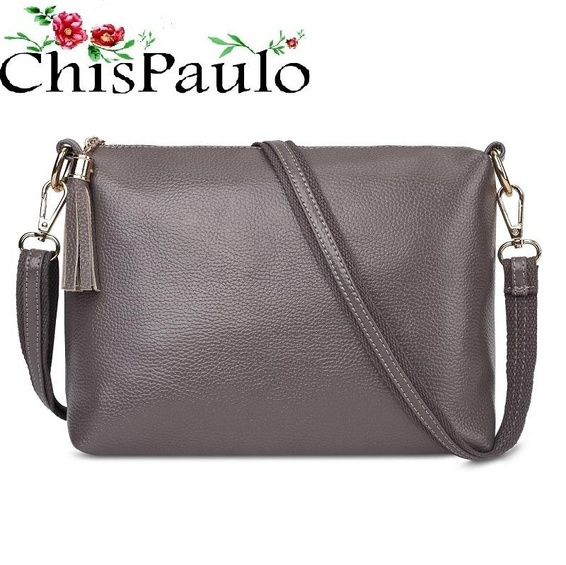 8a6faaeef931 Designer CHISPAULO Woman Bag 2017 Brand Designer Handbags High Quality  Fashion Genuine Leather Bags For Women Messenger Crossbody Bag X59 Ladies  Bags ...
