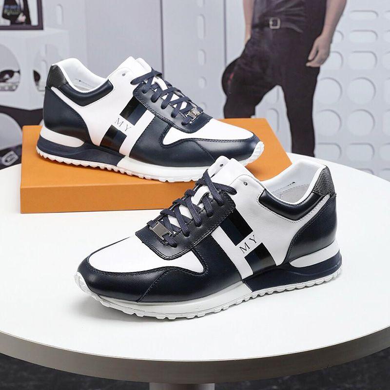 4ca21b1d5 Chaussures de course légères Hommes Sports Flats Baskets mode de plein air  Chaussures respirantes Baskets avec boite d origine Chaussures pour ...