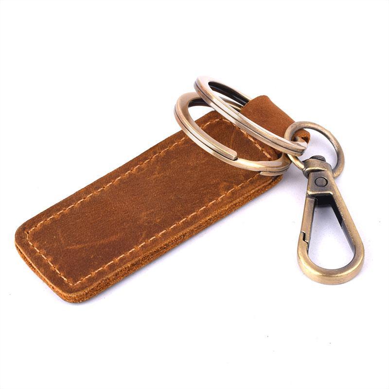 Vintage Genuine Leather Key Ring Key Holder Wallets Men Women Keychain For  Car Automobile Keys Housekeeper Organizer Bags Men Woman Wallet From  Ballballu 3190f5cd02