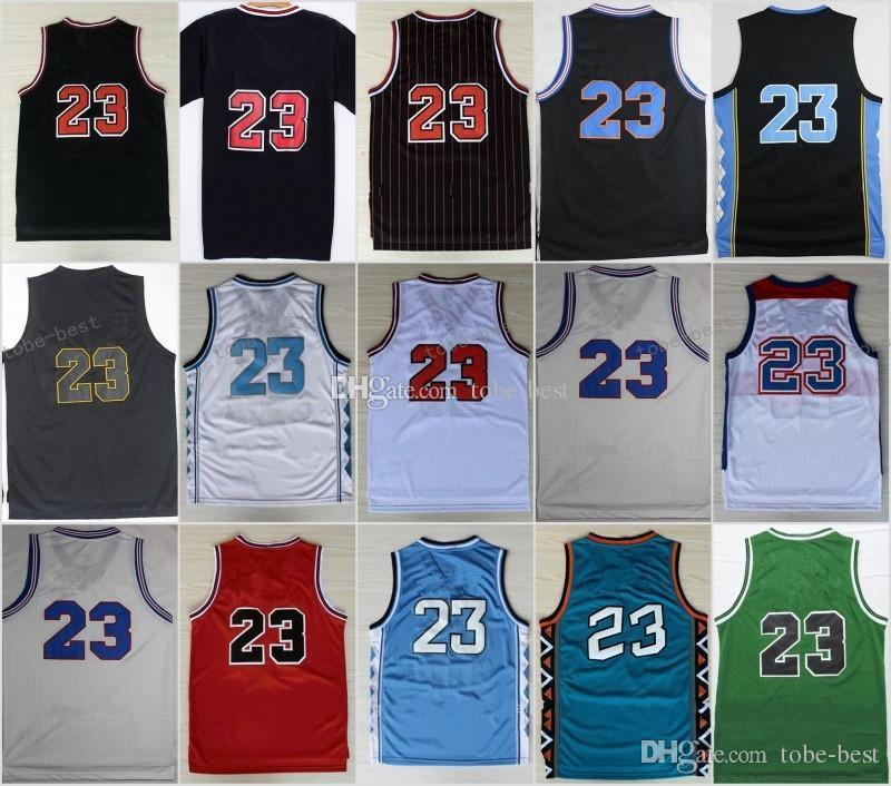 405e3aaa4 New College  23 Cheap New Basketball Jerseys NCAA Embroidery Sportswear  Jersey S-3XL 44-56 New Arrival Online with  16.57 Piece on Tobe-best s  Store ...