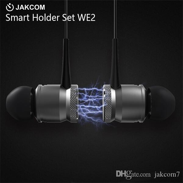 JAKCOM WE2 Wearable Wireless Earphone vendita calda in cuffie auricolari come smart braccialetto phong thuy orologio intelligente
