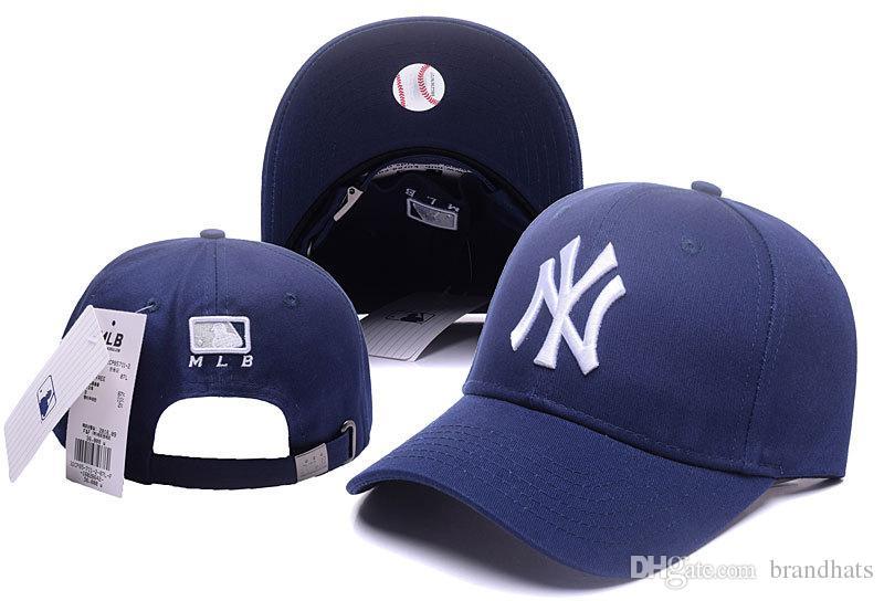 Designer Hats Caps Fashion Bone NY Baseball Hats For Men Women Snapback Cap  Summer Outdoor Trucker Hat Sport Golf Sun Visor Casquette Gorras Cap Shop  ... 58215c680