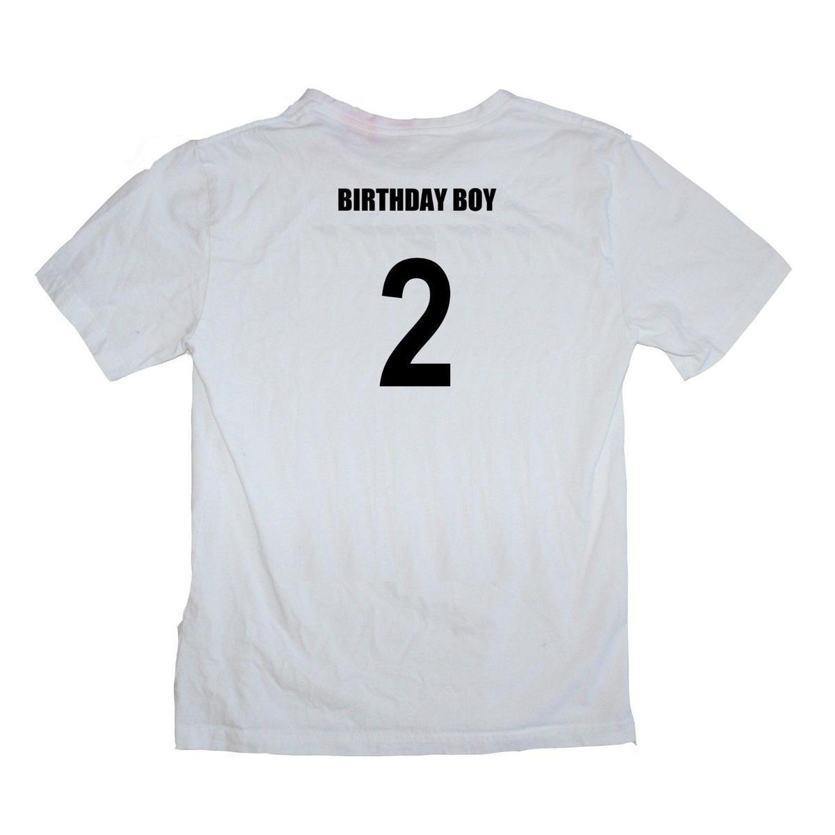 1e368869 Birthday Boy 2nd Second Birthday Two Year Old Male Baby Shirt Many Colours  Vintage T Shirts Band T Shirts From Jie69, $14.67| DHgate.Com