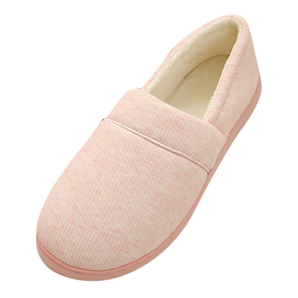 3c54fe37a2d MokingtopMokingtop Women Home Shoe All Inclusive Warm Pregnant Yoga Shoes  Month Comfortable Slipper Sapatos Femininos g5 Leopard Print Shoes White  Mountain ...