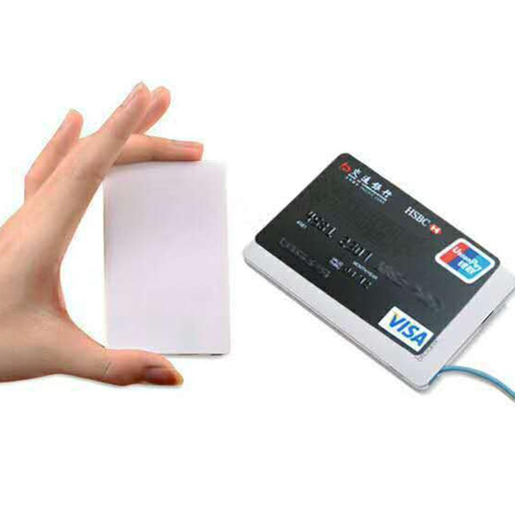 3000 mah Polymer Portable Outdoor Card Lightweight Power Charge Mini Fast Battery Ultra-thin Bank For Xiaomi MI iPhone Samsung