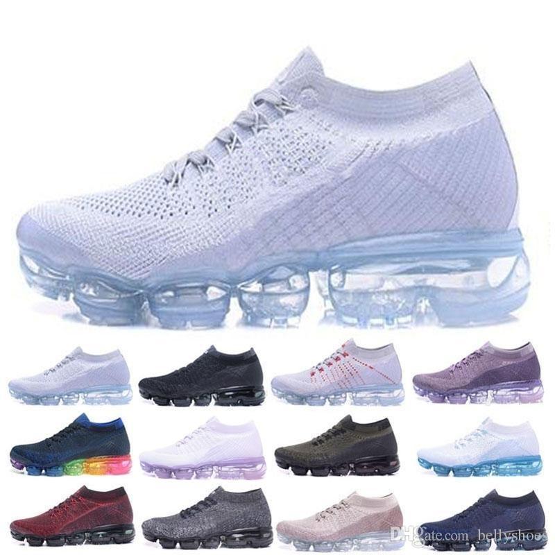 Großhandel Nike Air Vapormax Flyknit Off White Max Run