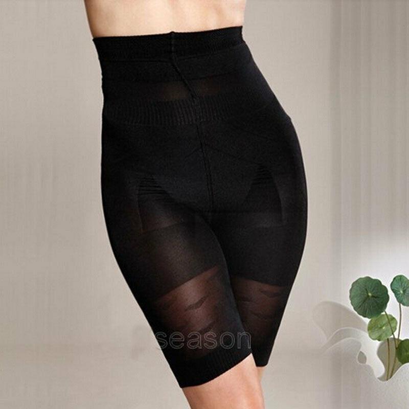 Kadınlar Skinny Bel cincher Pantolon Body Karın Bel Katı Zayıflama Kontrol Underbust Korse iç çamaşırı Bayan Pantolon