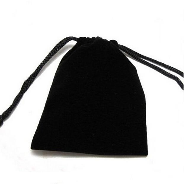 5x7, 7x9, 8x10, 10x12cm Black/Blue/Red/Wine Red Drawstring Velvet Bags & Pouches Jewelry Bags Gift Packaging Bag