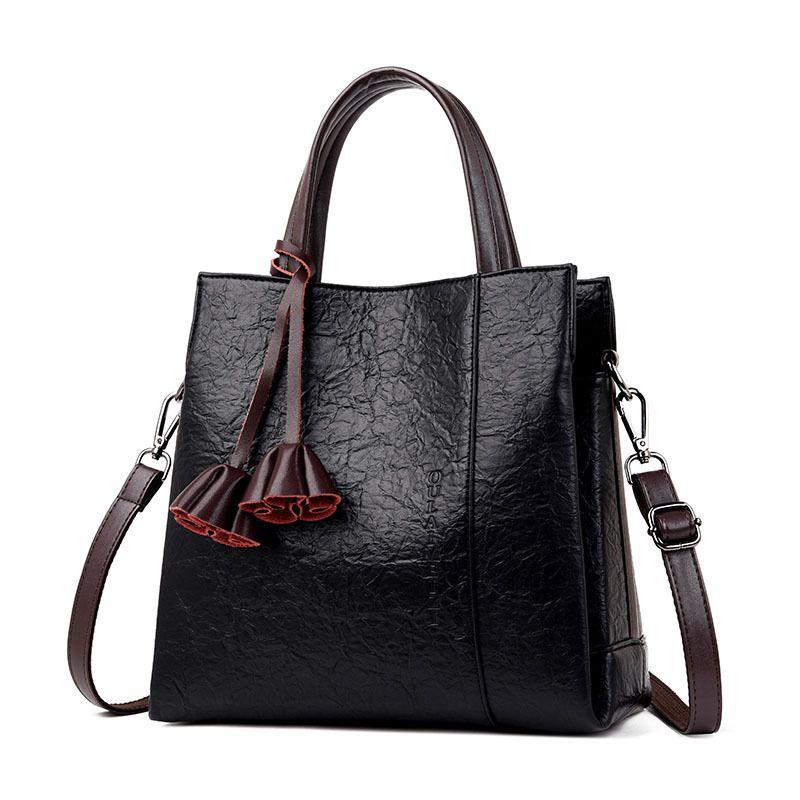3 Pockets Luxury Handbags Women Bags Designer Soft Leather Handbags Women  Shoulder Crossbody Bag Female Tote Bag Sac A Main Purses For Sale Leather  Purse ... 4f02bd21ccce8