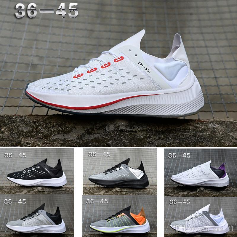 sale retailer 2ae07 2ec33 Acheter 2019 EXP X14 Caractéristiques Wave Graphics Emerged Pink Trainer  Chaussures De Course Pour Femmes Lady Hommes LOVER Sneakers Taille 36 45 De   82.72 ...
