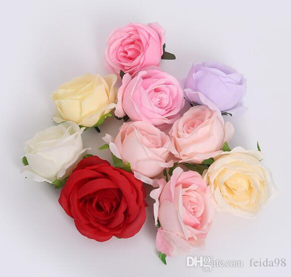 Simulated Rose Head Rose Wedding Photography Background Decoration Wall Flower Arrangement Fake Flower W1129