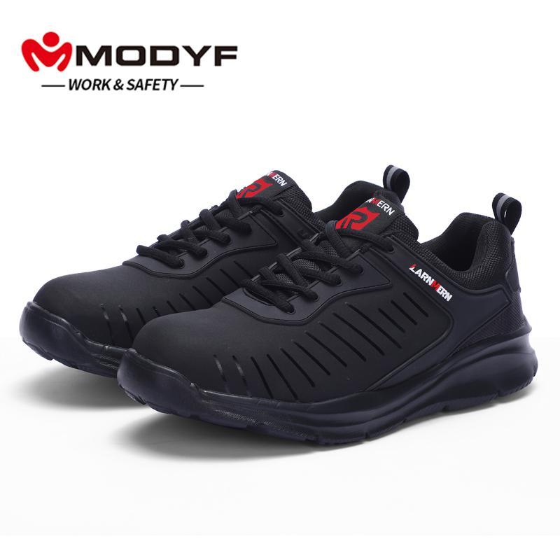 fe315e010e401 Compre Calzado De Seguridad Para Hombre   Para Mujer Construcción Al Aire  Libre Tapa Superior Con Punta De Acero Bota De Seguridad Hombres Zapatos De  ...
