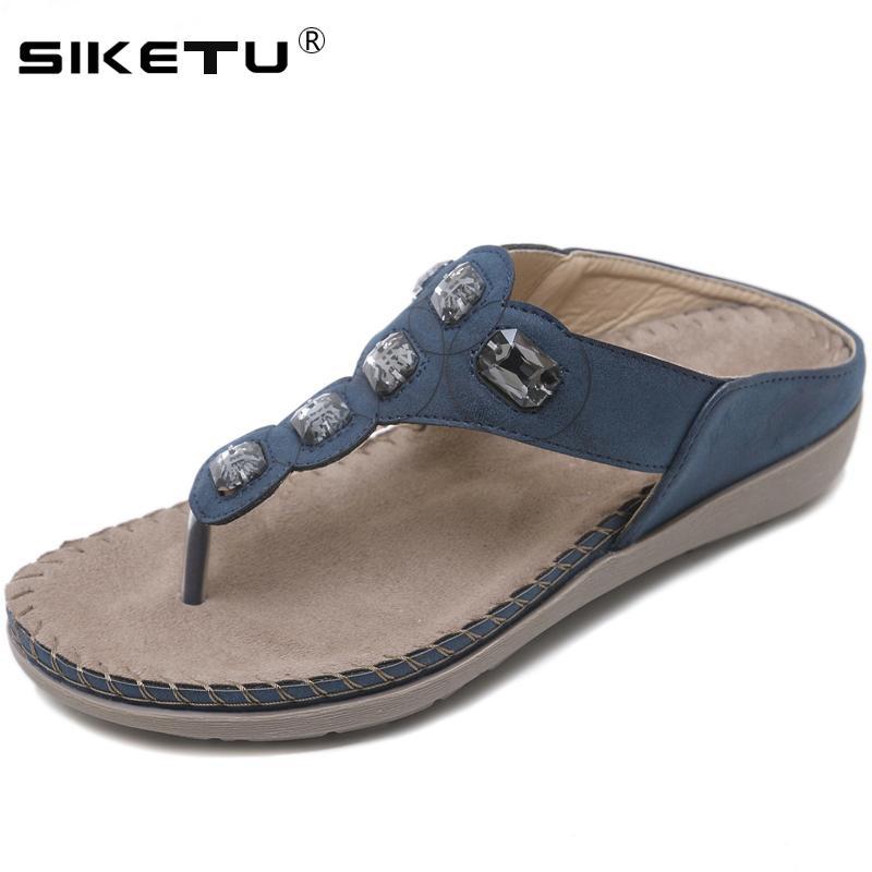 Confort De Verano Compre Siketu Zapatillas Playa Marca Mujer Zapatos R0StqwnU