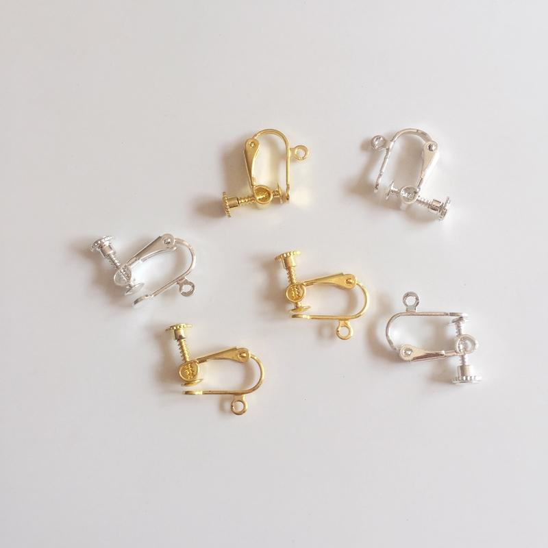 50Pcs Pear Lobster Clasp Connector Ring End Hook Buckle Jewelry Making Clasps
