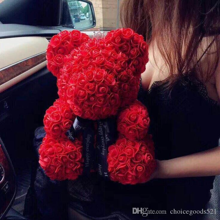 2019 Rose Bear Wedding Party Decoration Valentine S Day Gift Cute