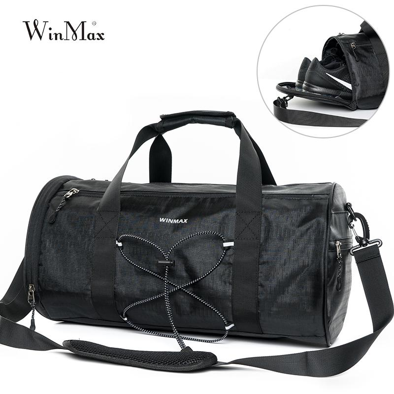 d323117abc 2019 Gym Bag Fitness Sports Outdoor Bag Travel Handbag Waterproof  Independent Shoes Storage Travel Duffel Bag Pack Exercise Yoga Tote From  Fly181688