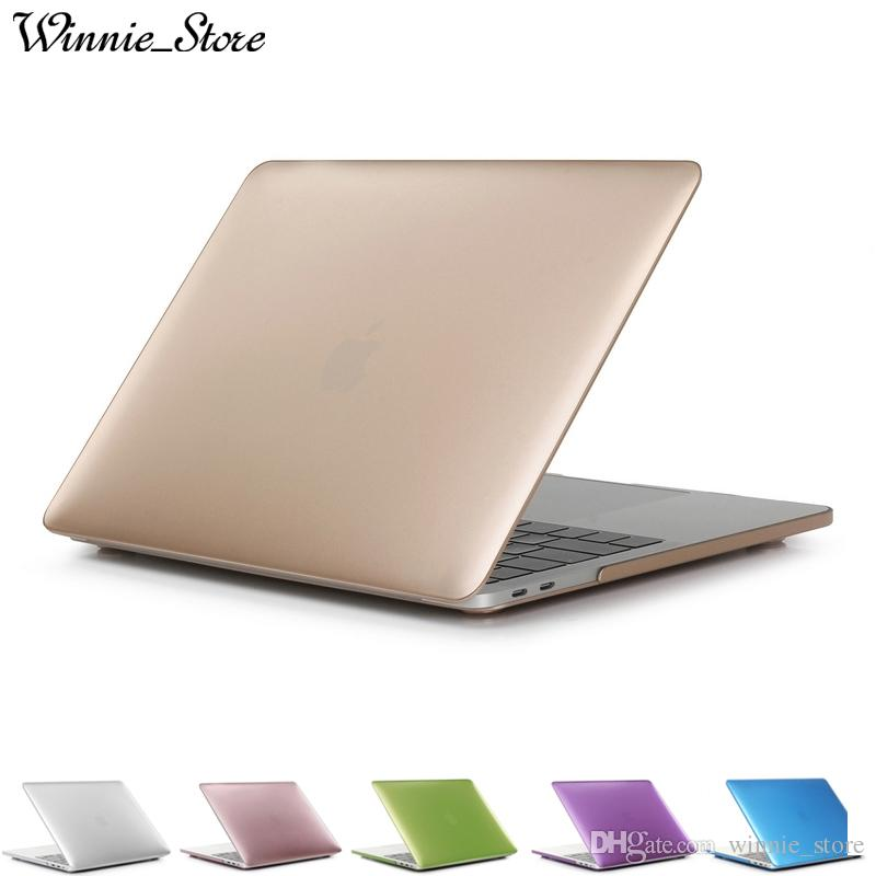 a34fe336da83 Matte Metal Color Laptop Hard Case For Macbook Air Pro with Retina 11 12 13  15 inch New Pro A1706 A1708 A1707 A1932