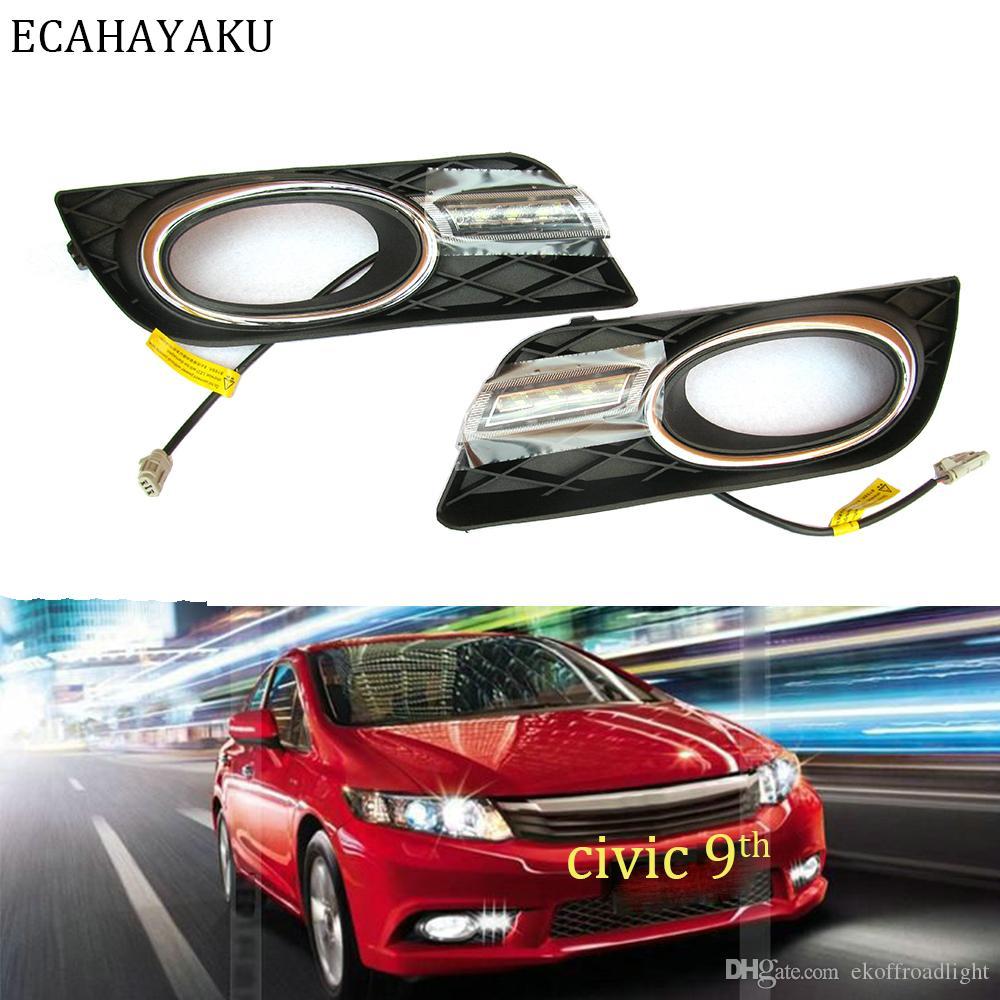 Projector Cob LED Fog DRL Spot Lights Angel Eyes Pair For Peugeot MODELS