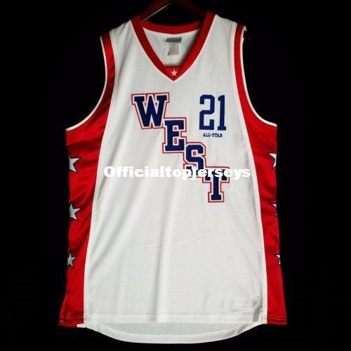 2019  21 Kevin Garnett West All Star Game Jersey White Basketball Jersey  Men S Sewn Stitched Custom Any Number And Name XS 6XL Vest Jerseys Ncaa From  ... 663e667bb