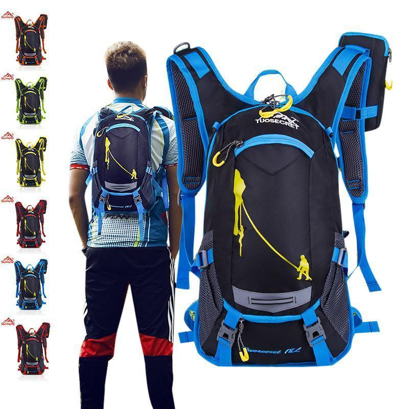 b146f5777f7a1a Nice Pop 15L Bicycle Cycling Rucksack Backpack Hydration Pack Helmet Water  Bladder Bag For Dropshipping Wheeled Backpacks Leather Backpacks From ...