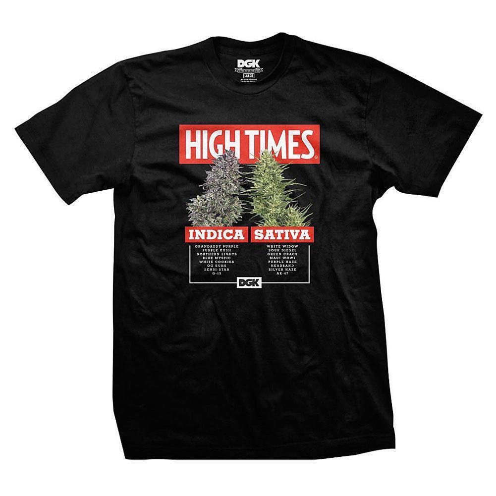 DGK X High Times Options Men S T Shirt Black Tee T Shirts Clothing Apparel  Slogan T Shirts Vintage T Shirt From Jie036 e0c8c773309