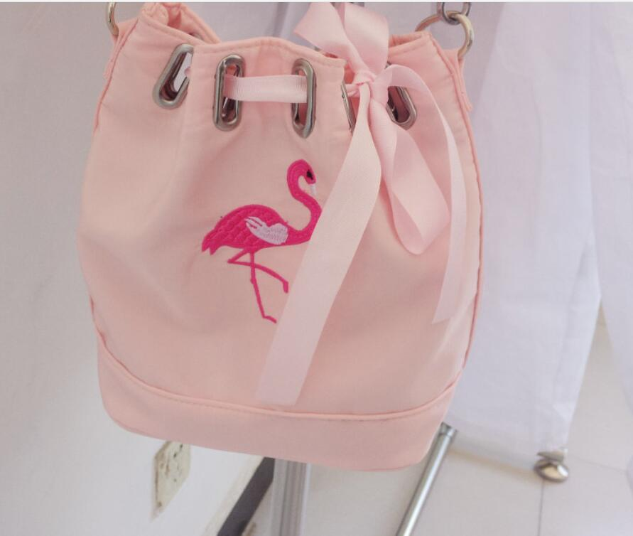 db2b45d42538 Supply Fashion Summer New Nylon Package Mini Mobile Phone Bag With Ribbon  Flamingo Shoulder Bag Diagonal Package Cheap Backpacks Rolling Backpack  From ...